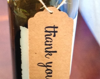 Wine Tags (Thank You)