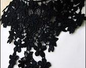 Black Lace Nocturne Choker by Kambriel - Brand New & Ready to Ship!