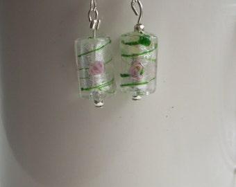 White bead earrings, white dangle earrings, white drop earrings, wedding jewellery, bridal jewelry, bridesmaid jewelry, gifts for her,