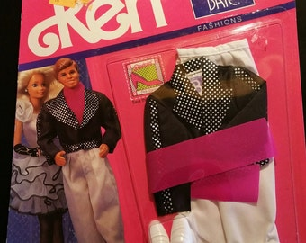 1990 NIP Ken and Barbie Mattel Ken Dinner Date Outfit