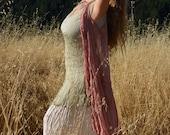 Chiffon Dress Over Wrap