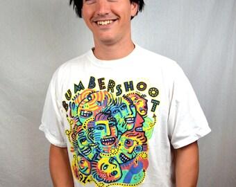 Vintage 1991 Bumbershoot Music Festival SEATTLE Tee Shirt