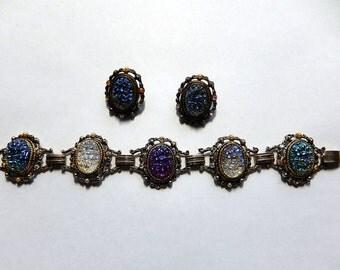 Lava Glass Bracelet Set