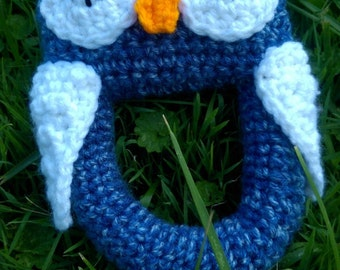 Crochet Owl Baby Toy