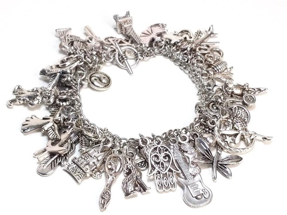 charm bracelet kit do it yourself jewelry making by