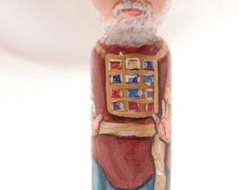 Old Testament Eli - Catholic Saint Peg Doll - made to order
