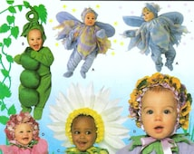 Halloween Baby Costume Simplicity Pattern 8273 (Toddler sizes 1/2,1,2,3,4)