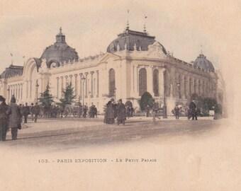 Vintage French Postcard -- 1910?