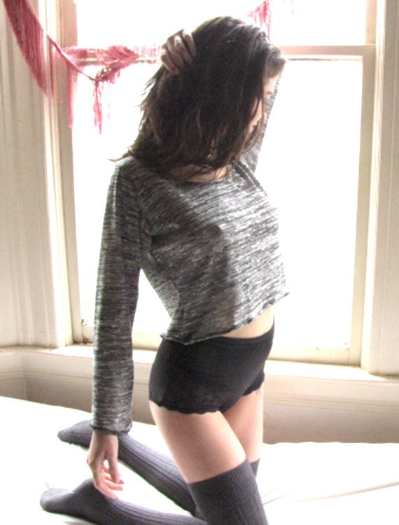 womens clothing see through sweater by