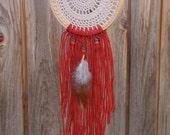 Vintage Doily Dreamcatcher Bohemian Dreamcatcher Small Dream Catcher Native American Dream Catcher Bohemian Wall Hanging Boho Home Decor