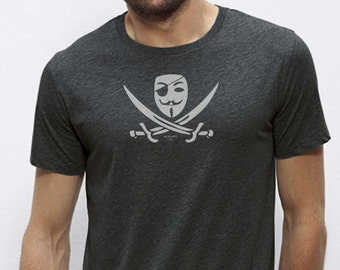 Pirate  organic cotton tee shirt