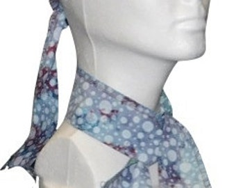 Neck Cooler, Head Wrap, Cold Wrap, Cooling Wrap, Cool Ties, Cooling Ties, Cooling Bandana, Hand Dyed