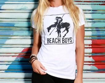 vintage the beach boys t shirt size small 50 50
