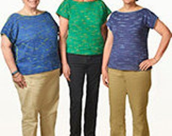 3 skein kit for Speed Bumps top desigined by Suzanne Bryan   PLEASE READ DESCRIPTION