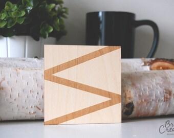 Abstract Line Coaster  - Coaster, Geometric Coaster - C-A3