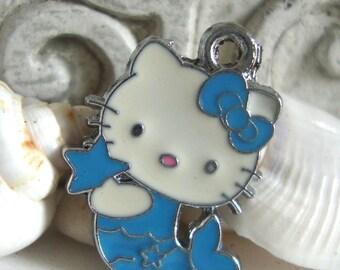 Kitty Mermaid Jewelry Charm,Mermaid Kitty,Beach Charm