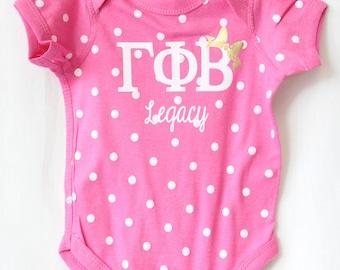 Polka Dot Legacy Baby Bodysuit