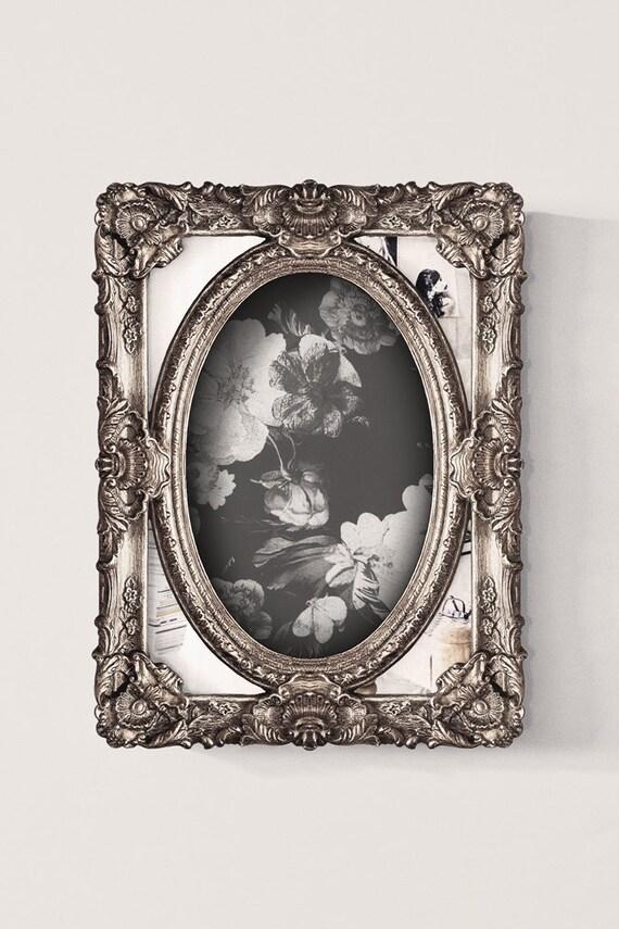 Cadre baroque style vintage coins miroir by leboudoirparis for Miroir style baroque