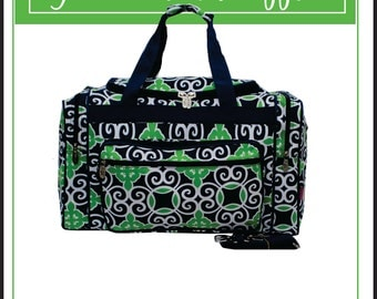 Duffle Bag, Travel Bag, Monogrammed