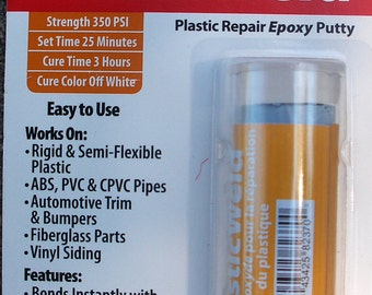 Plastic Repair: Epoxy Putty For Plastic Repair