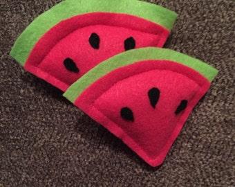 Watermelon Slice Cat Toy - Organic Catnip Cat Toy