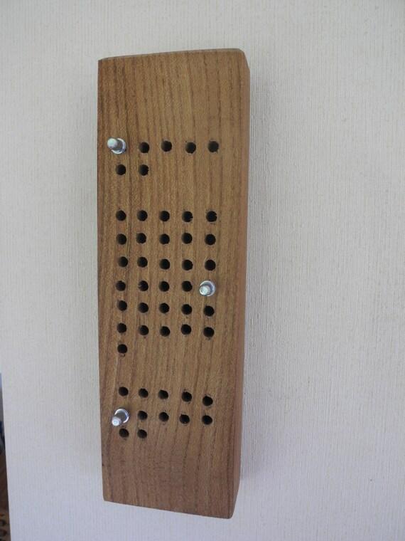 calendrier perp tuel en bois accroche murale par eventailmenuiserie. Black Bedroom Furniture Sets. Home Design Ideas