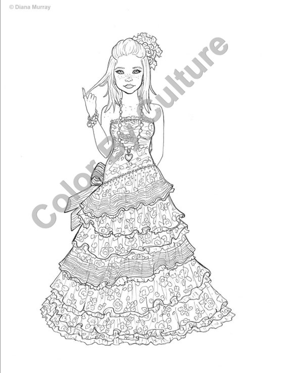 fantasy coloring pages for teens - photo#35