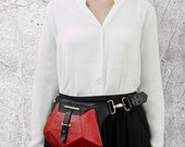 PENTAGONE - Leather Bum Bag   When high-end style meets practical