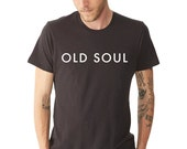 Old Soul, Shirt, MEDIUM, Old Soul in a Young Body, Graphic Tee, Shirts with Sayings, Unisex