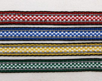 "Thiery -  Hand Woven Inkle Trim (13/16"" wide)"