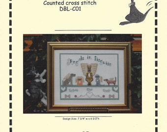Angels in Disguise - Counted Cross Stitch Leaflet - Designs by Lisa