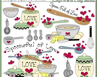Baking Clip Art Spoonsful of Love