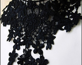Black Lace Nocturne Choker by Kambriel - Brand New & Ready to Ship!
