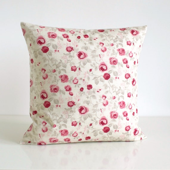 Shabby Chic Decorative Pillows : Decorative Pillow Cover Shabby Chic Cushion Cover by CoupleHome