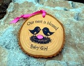 EXPECTING BABY ORNAMENT Its a Girl Its a Boy Pregnancy Reveal to Grandparents Baby Gender Announcement First Christmas Ornament Baby