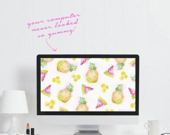 Fruit Computer Wallpaper - Cute Wallpaper - Downloadable Computer Wallpaper - Fruit Computer Wallpaper - Cute Laptop Background - Computer