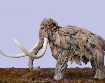 Meet Woollard Earthhorn, Woolly Mammoth adrift no more... brought back to life by the expert sculptors and goofologists at Pavlov's Dream...