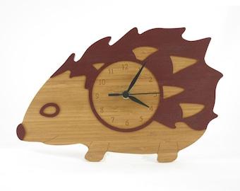 Hedgehog Clock