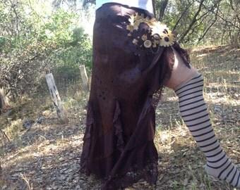 dual functional steampunk skirt