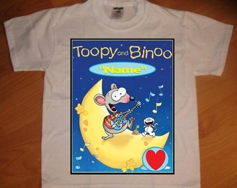 Toopy and Binoo Personalized T-Shirt
