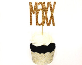 Personalized NAME Cupcake Toppers