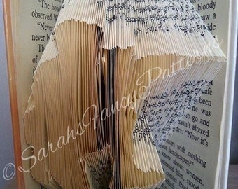 Army Guy - Book Folding Pattern