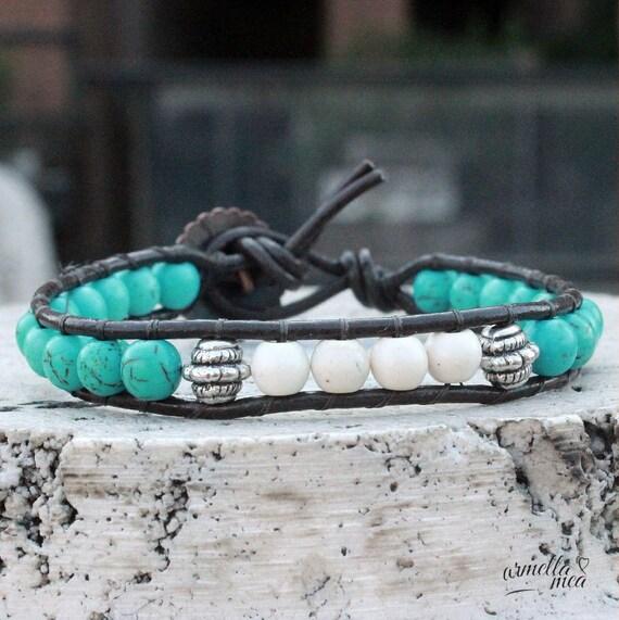 Jewelry handmade, handmade bracelet, bead bracelet woman, beaded bracelet, wrap bracelet, bohemian jewelry, women bracelet turqoise bracelet