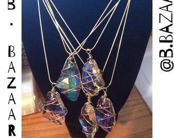 B.Bazaar 'Gemma Stone' Necklace