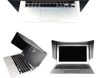 "Macbook Pro 13"" sunshade. The iShade is a sunshade for your screen. Fits the Apple Macbook Pro 13"" and keeps the glare off."