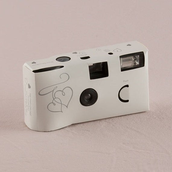 Disposable Camera Wedding Idea: Set Of 10 Disposable Cameras Wedding Favor By PerfectFavours