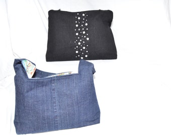 The Olivia Blue Denim Purse