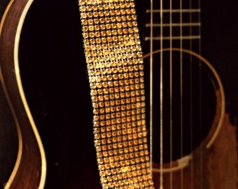 Gold Guitar Strap