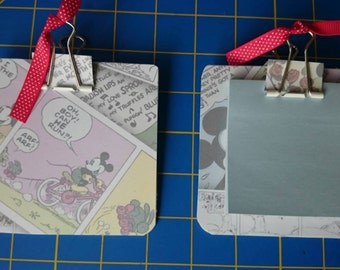 Mickey Mouse post-it note holder, sticky notes, office notes, teacher gift