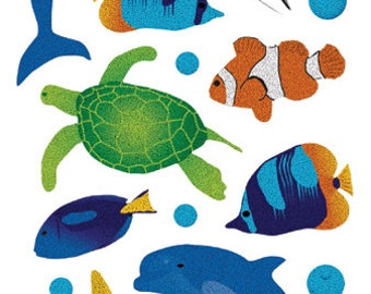 Sticko Scrapbooking Stickers - Marine Life